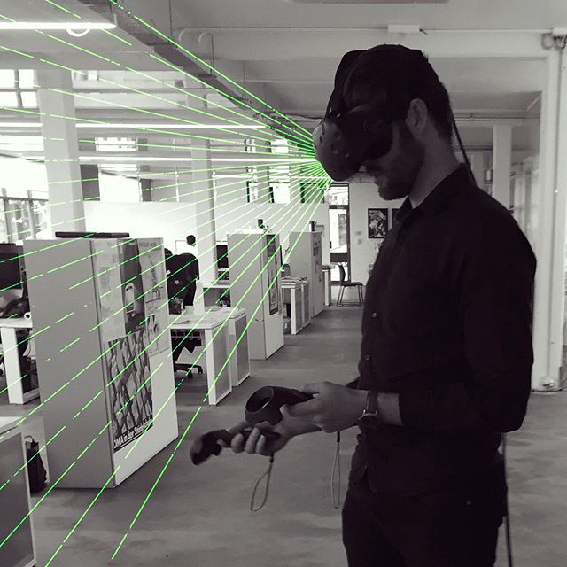 Stepping into the future at _With _ #vr #virtualreality #technology #architecture #perth #design
