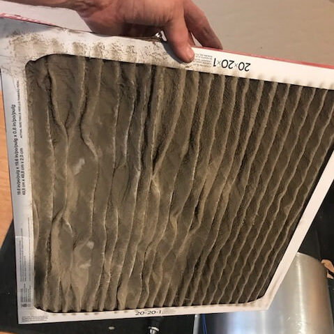 change your air filters at the beginning of each season, or monthly if you have breathing issues, pets, lots of pollen, or are a smoker.