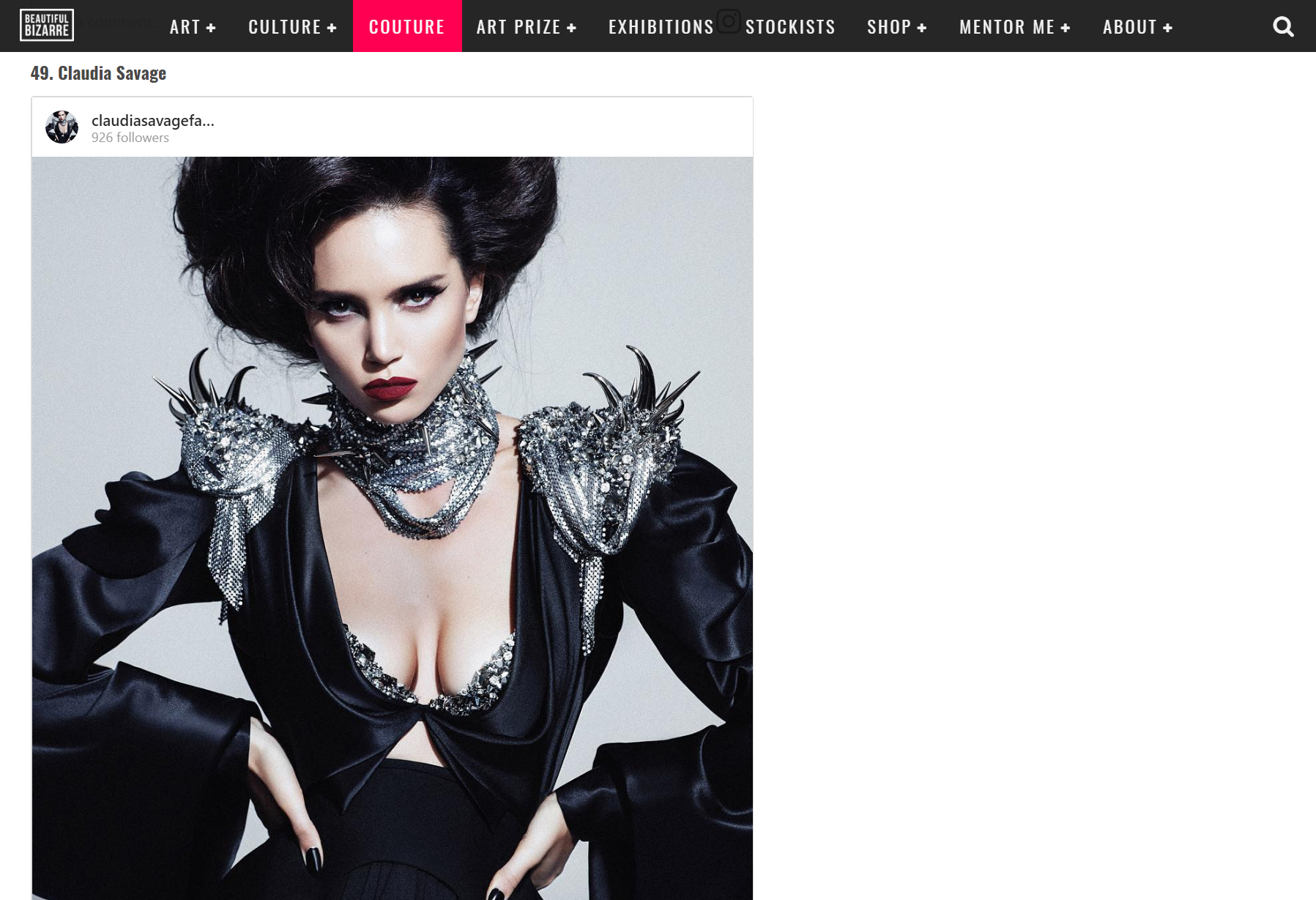 Claudia Savage Top 100 Wearable Art Designers Instagram.jpg