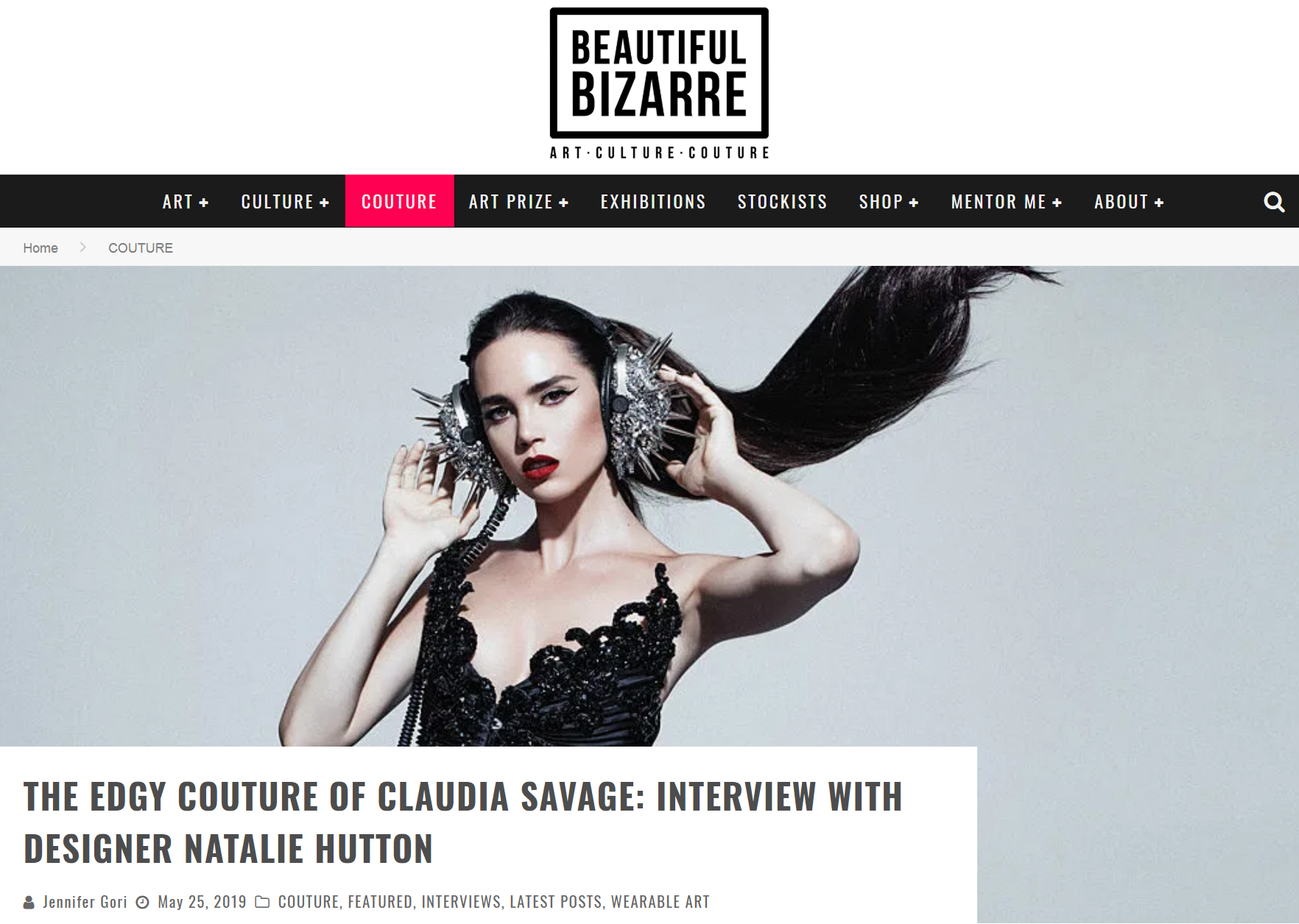 Q&A with designer Natalie Hutton for Beautiful Bizarre Mag.jpg