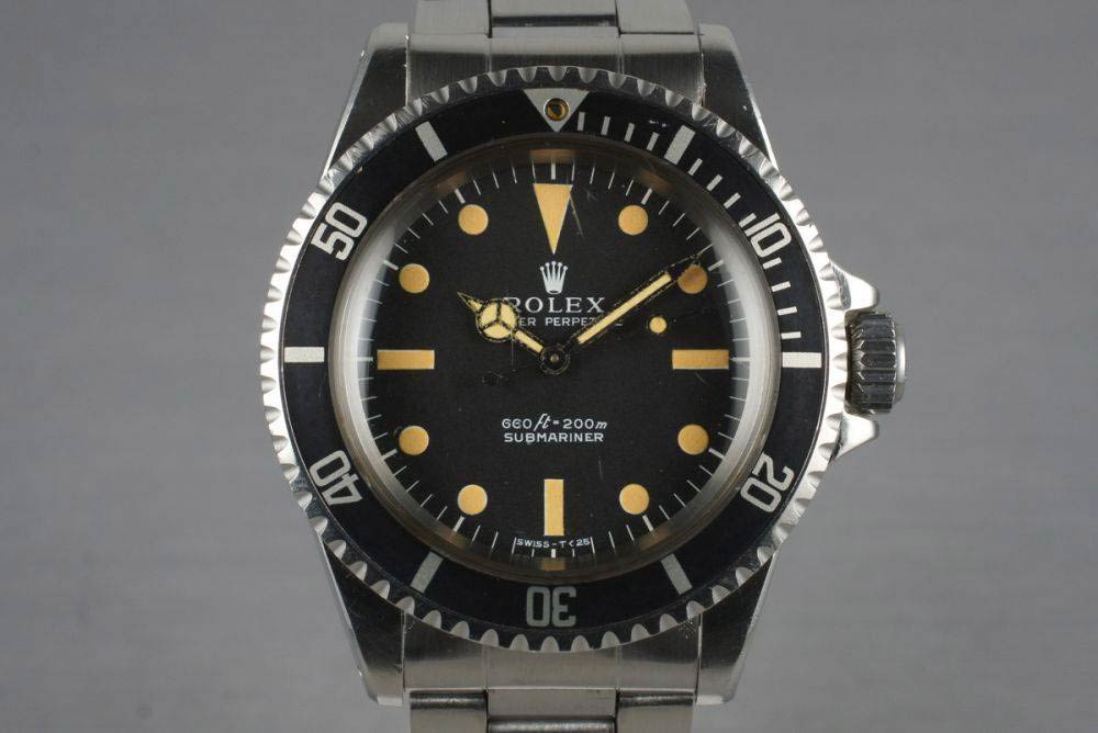 Rolex 5513 Photo credit: horobox.com