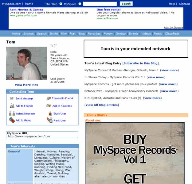 MySpace suffered from obtrusive banner ads, and clunky UX, among other things