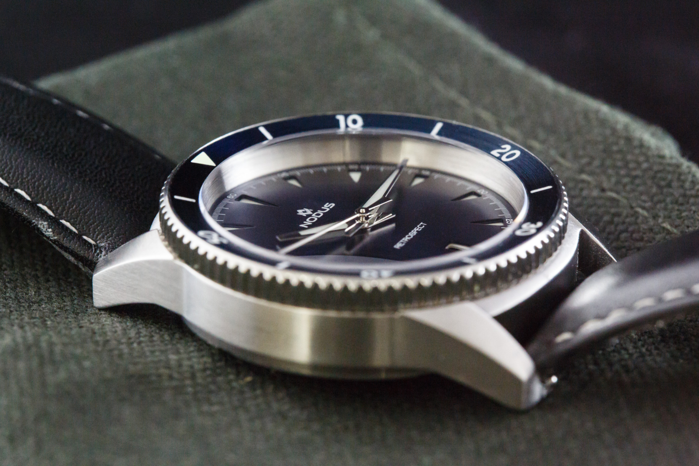 The sandwich dial adds tremendous depth to the overall appearance of the watch.