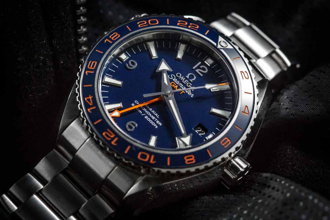 The Omega Seamaster Planet Ocean GMT Goodplanet Edition