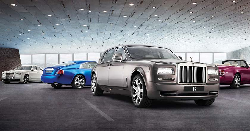 Many parallels can be drawn between Rolls Royce and Rolex, as both are seen as prestigious and top-of-the-line products. Photo Credit:rolls-roycemotorcars.com