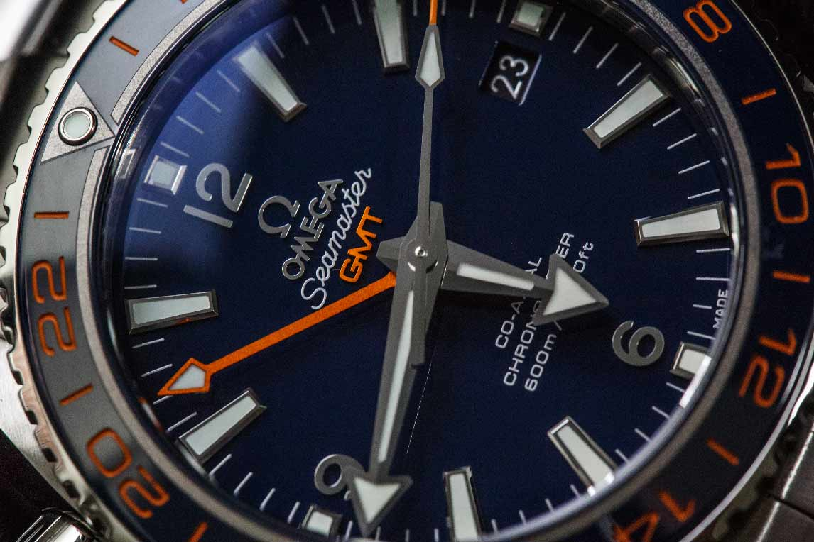 Dust-free dial and perfectly aligned hands are the details that Omega can consistently deliver.