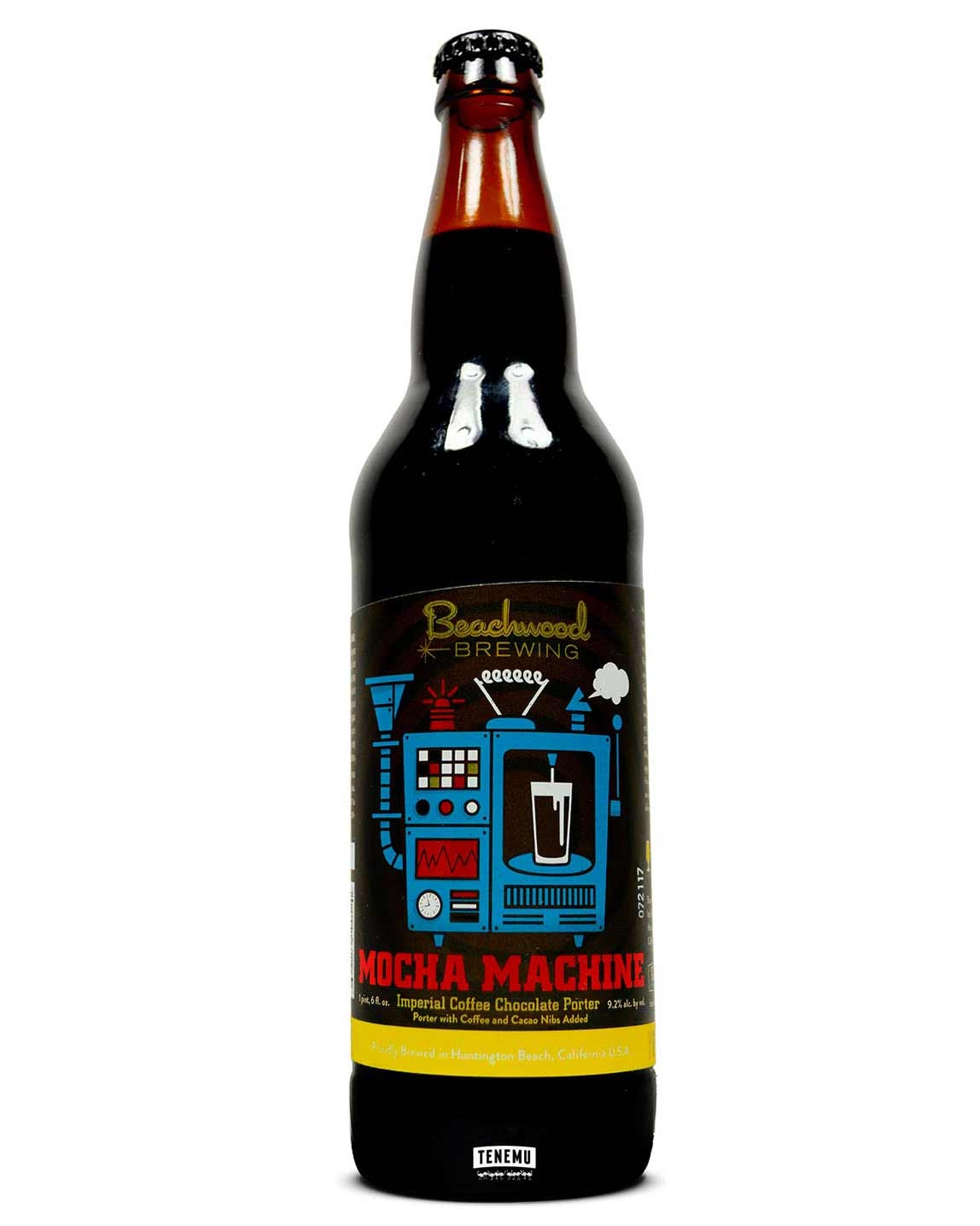 Beachwood Brewing brews and bottles all their beers in-house. They are hard to obtain but worth the effort and is a must-try for any porter-lover. Mocha Machine is ranked as the 22nd best American Porter on Beer Advocate, the beer-lovers equivalent of WatchUSeek.
