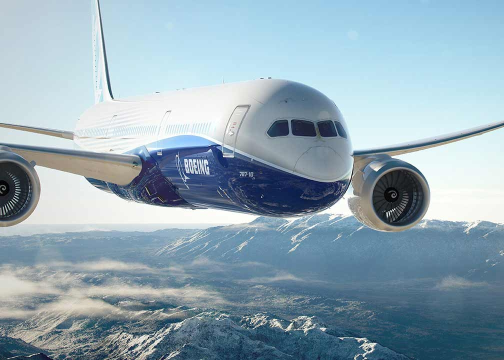 Boeing's 787-Dreamliner is an amalgamation of internationally sourced parts: the wing-tips are manufactured in South Korea; the rest of the wing is manufactured in Japan; the landing gear is manufactured in France; the engines are manufactured in the UK, and they all come together in Seattle, WA.