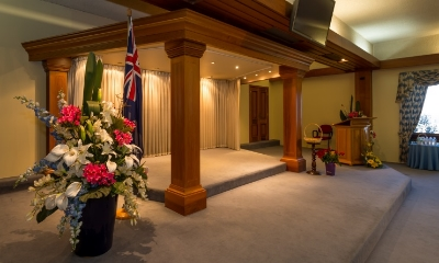 Hansen and Cole Funerals - Kembla Grange - Full Av System with multiple screens