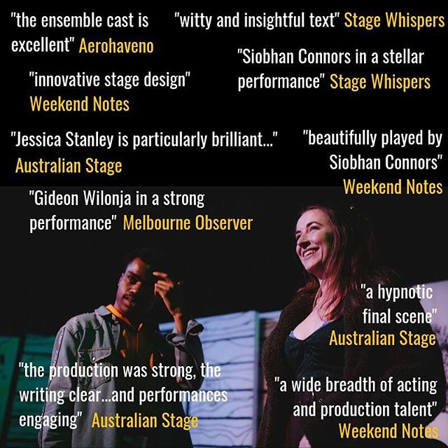 There's only a couple of chances left to see these excellent people get all drunk and Jesus-y at fringe (unless you come to the after party), tickets available through link in bio 💒🌈🍾 #thejesusyshow #melbournefringe #theatre