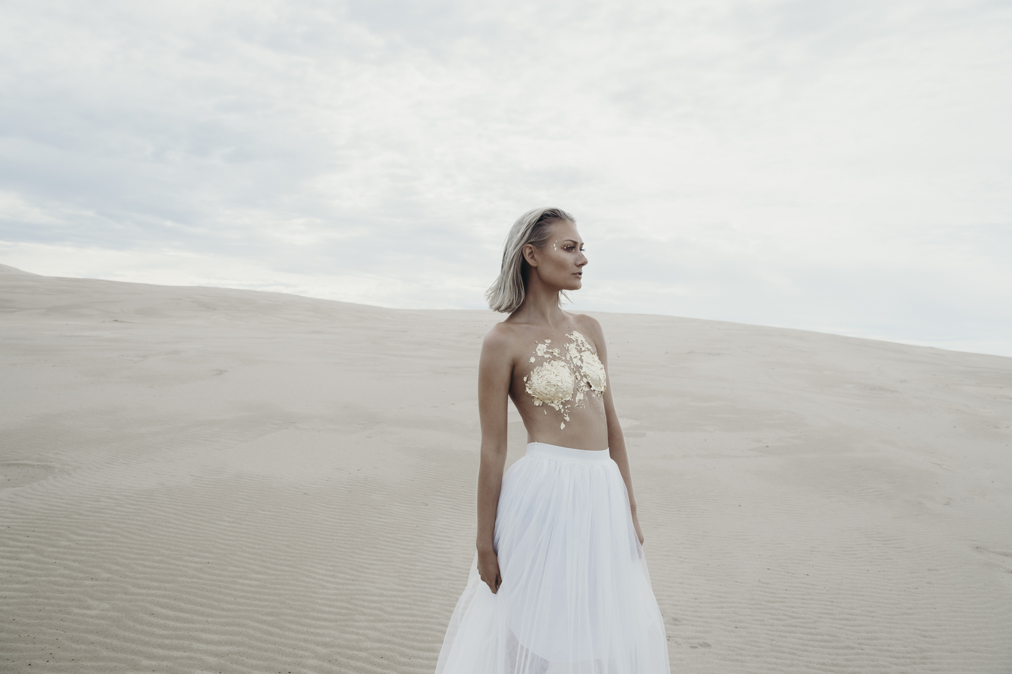 Gold Leaf Goddess - Anna Bay NSW