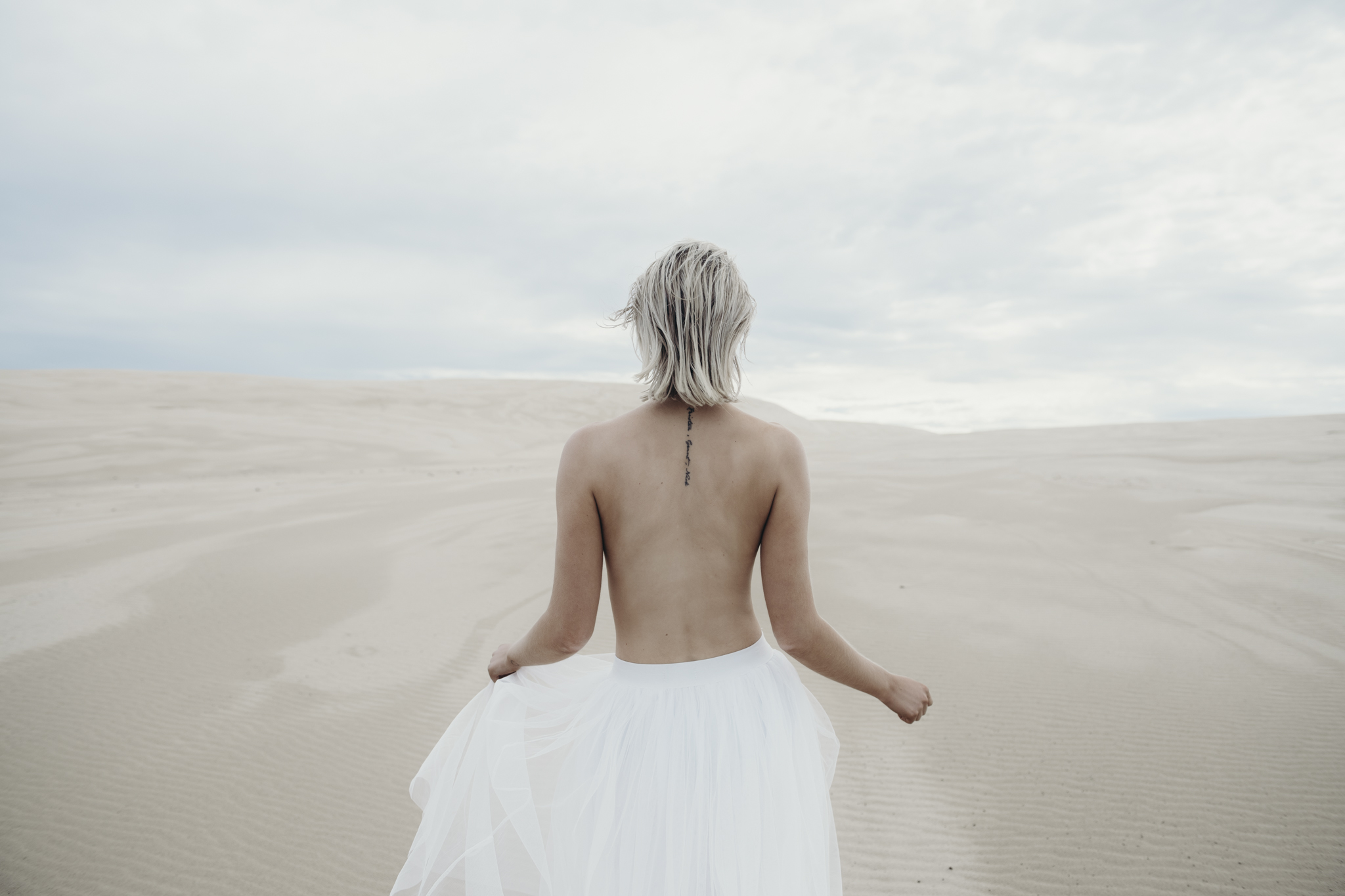 Follow her through the sand dunes and unearth her story.