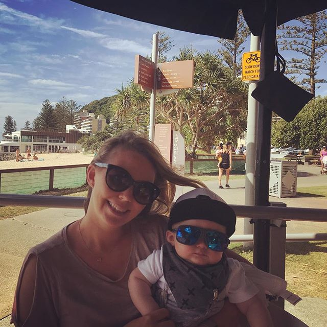 Happy first Mother's Day @alycia23 I couldn't be more proud of how you are as a mum with cooper! 😘😘 I explained to him you don't get to pick your mum and dad but he told me  he would of picked you anyway. 🙂Hope you enjoy today love cooper and hubby xoxo