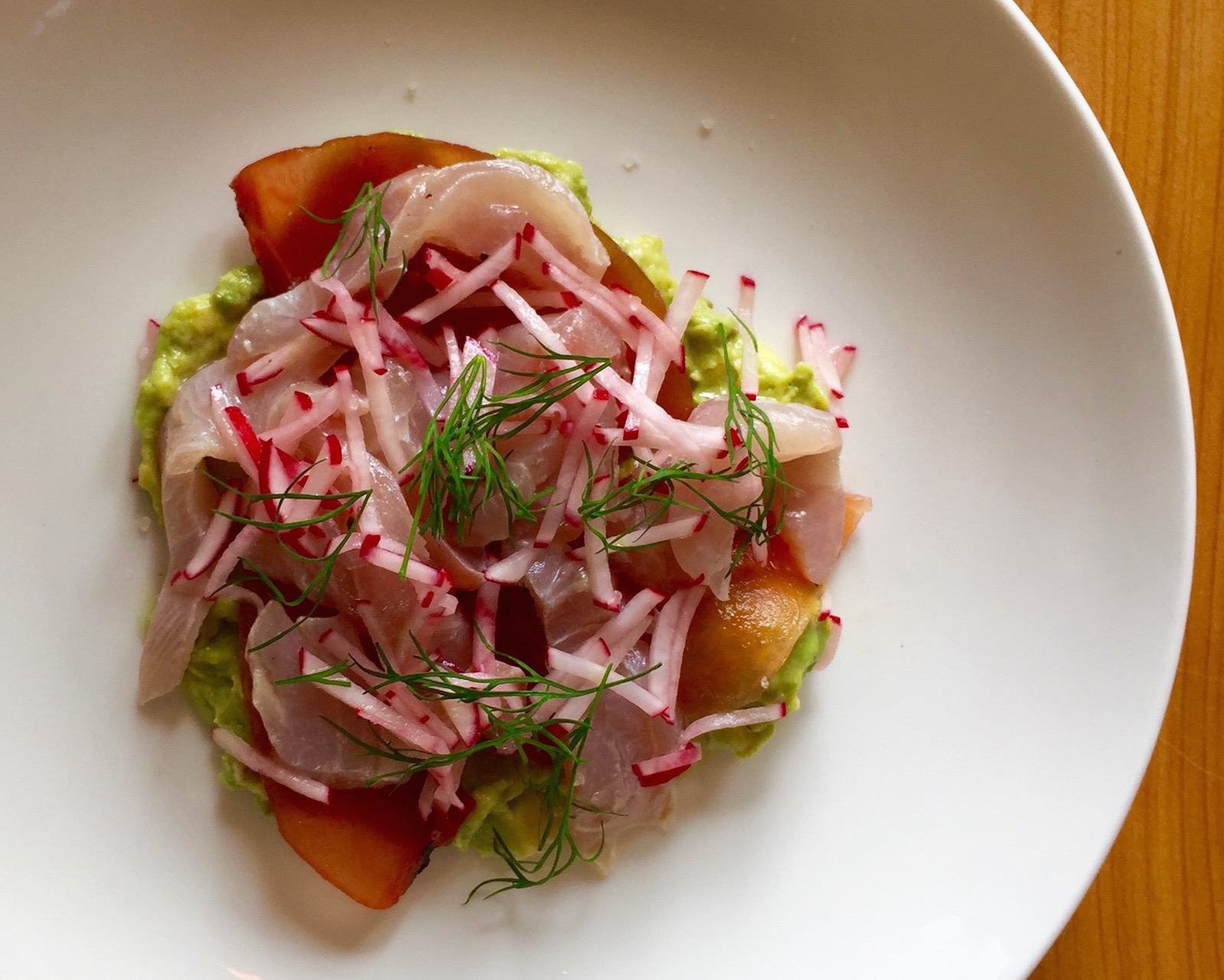 Sustainably Sensational: Orphans kahawai ceviche is a light, delicate, healthy mouth party.  Photo credit: Kylie Bailey