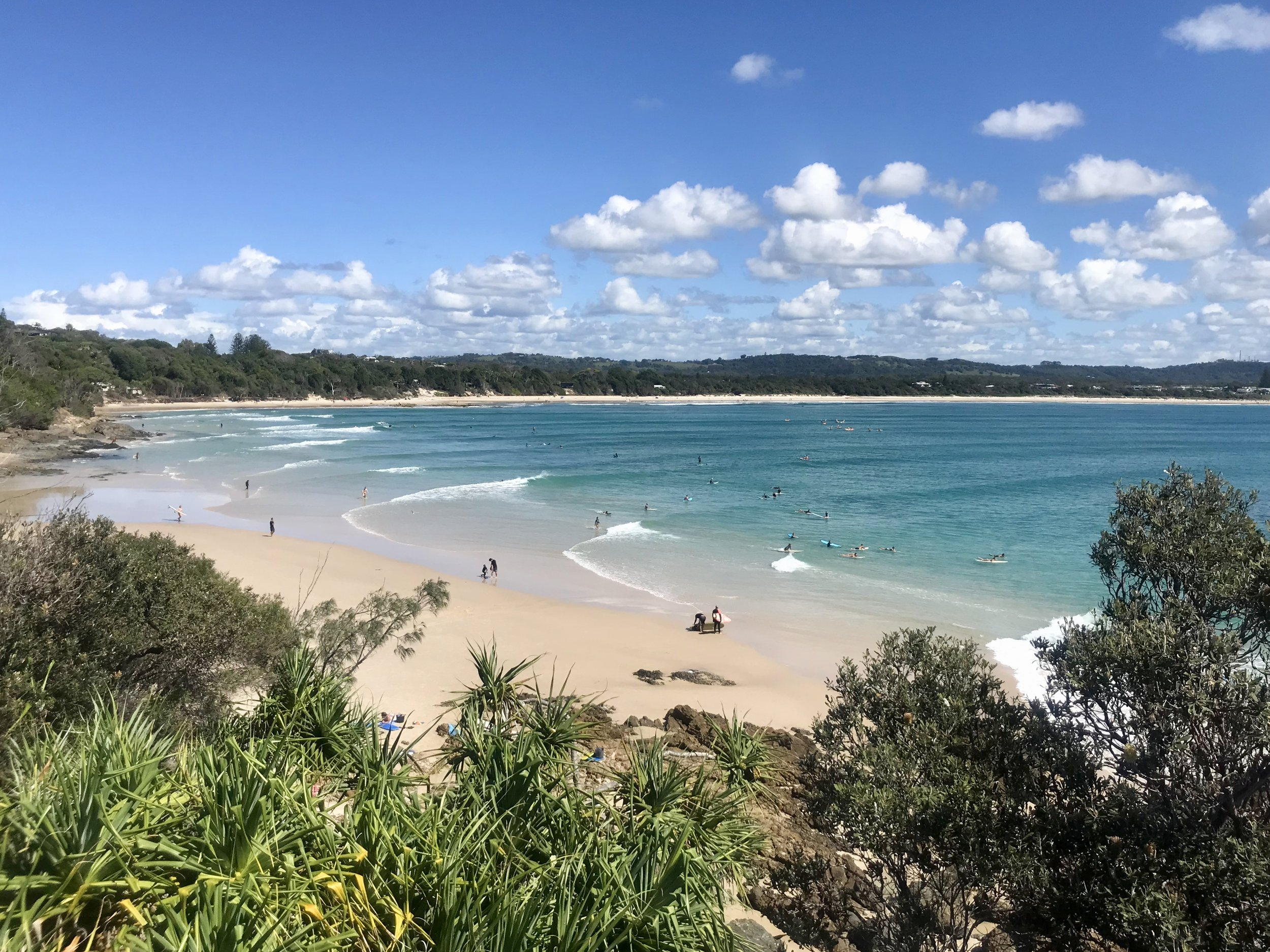 One of the many stunning views found in beautiful Byron Bay.