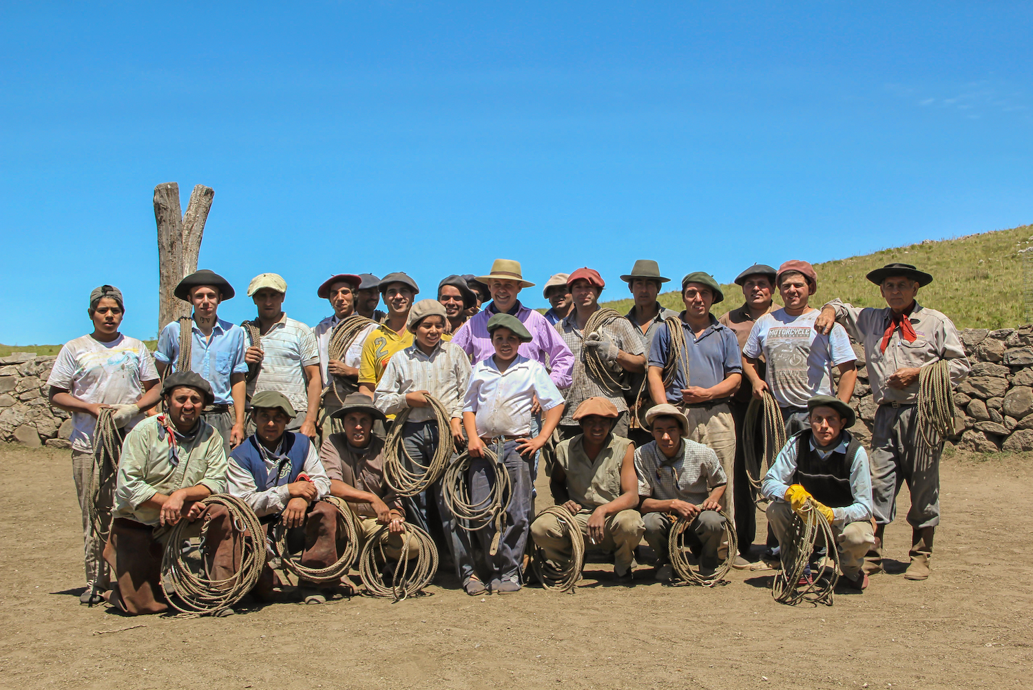 The Gaucho Team at Estancia Los Potreros
