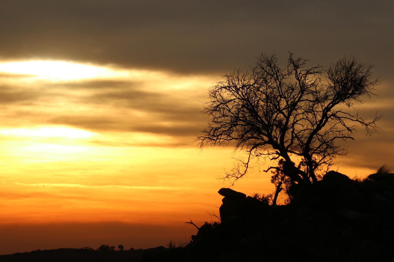 Dawn Breaking over  Córdoba Argentina