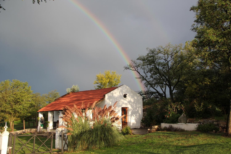 Rainbow over Estancia Los Potreros