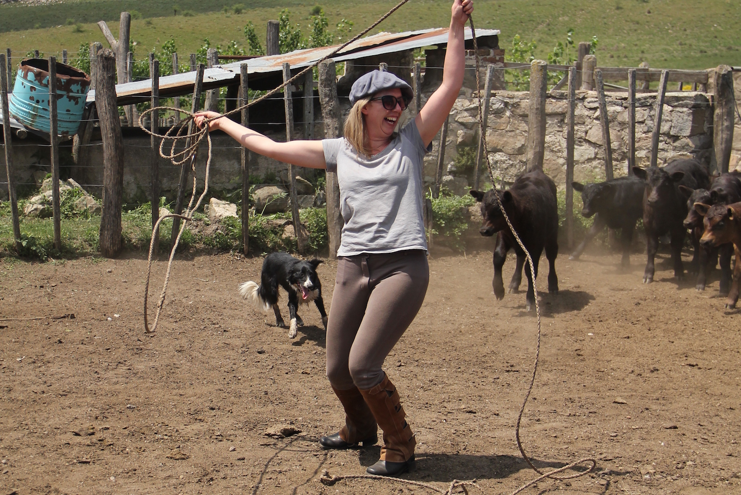 Learning Gaucho Skills at Los Potreros