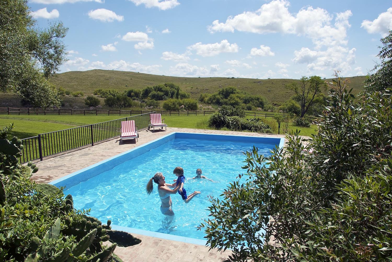 The Swimming Pool at Estancia Los Potreros Argentina