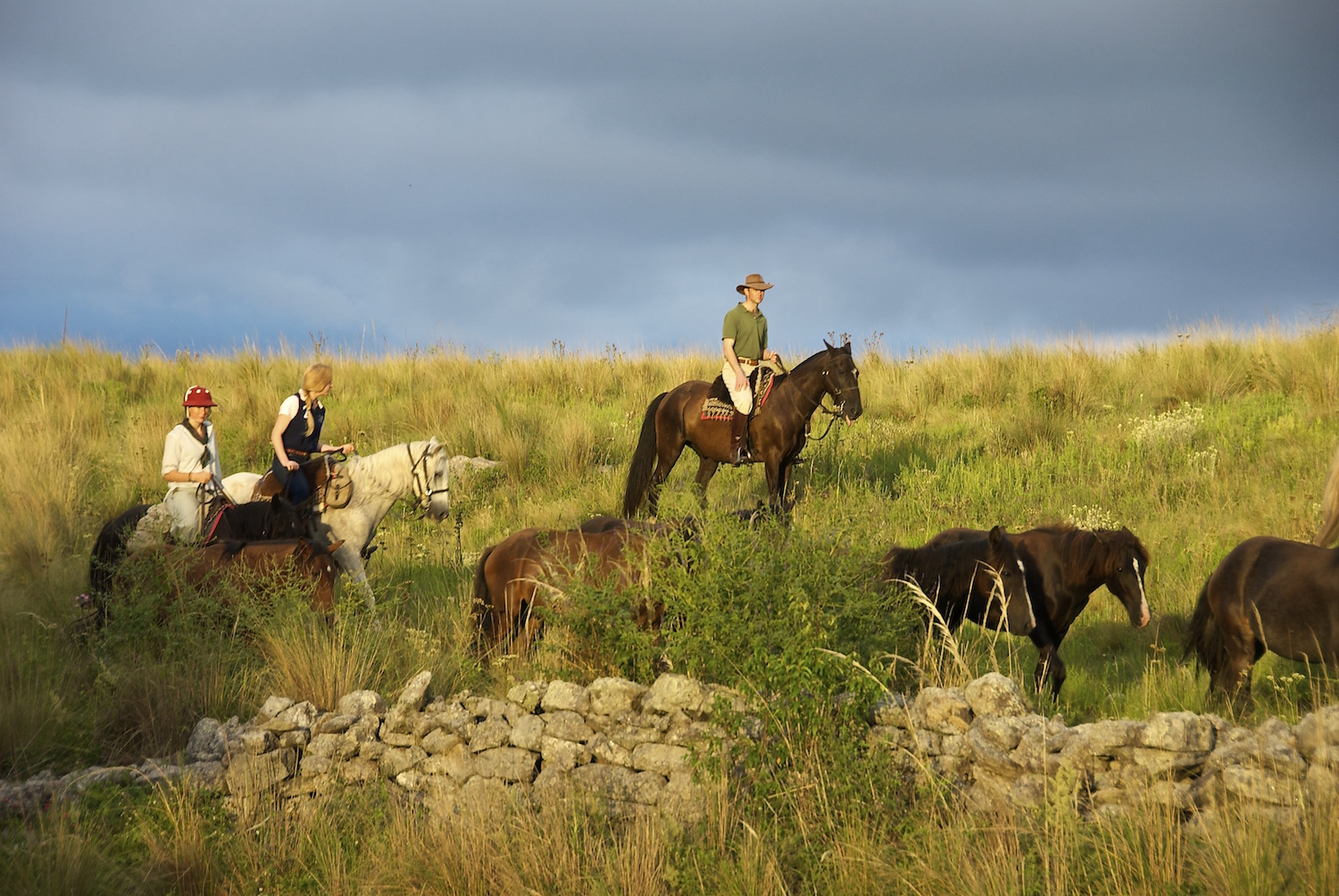 Trail Riding on Horseback in Argentina