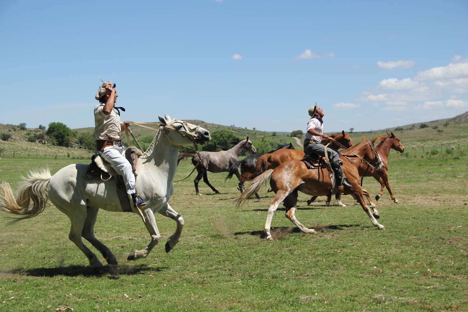Riding with the gauchos in Argentina