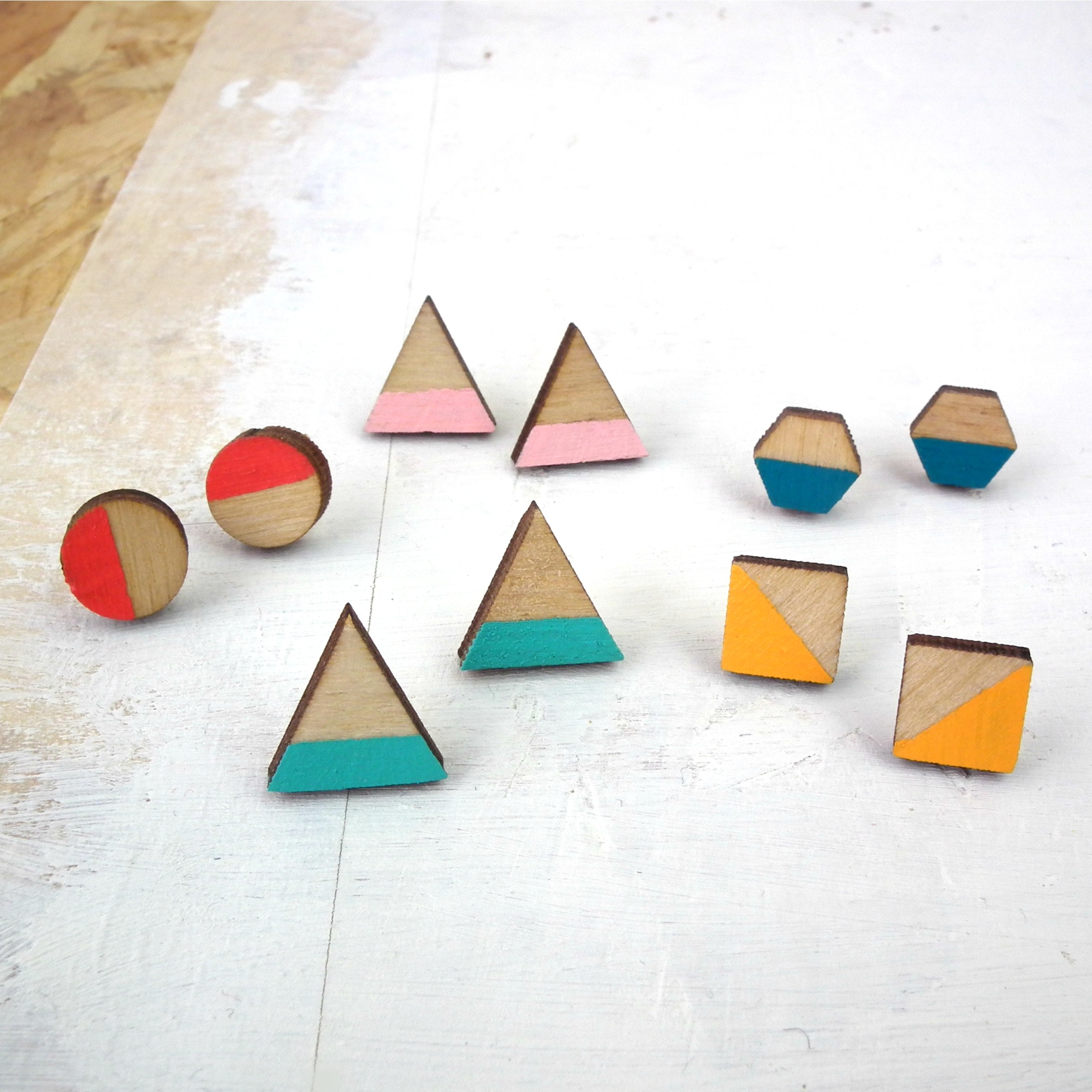 red paper house - Geometric Stud Collection.jpg