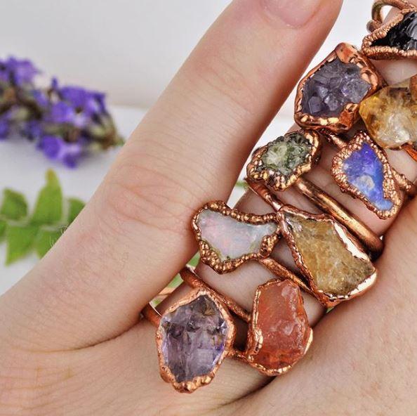 copper crystal rings.JPG