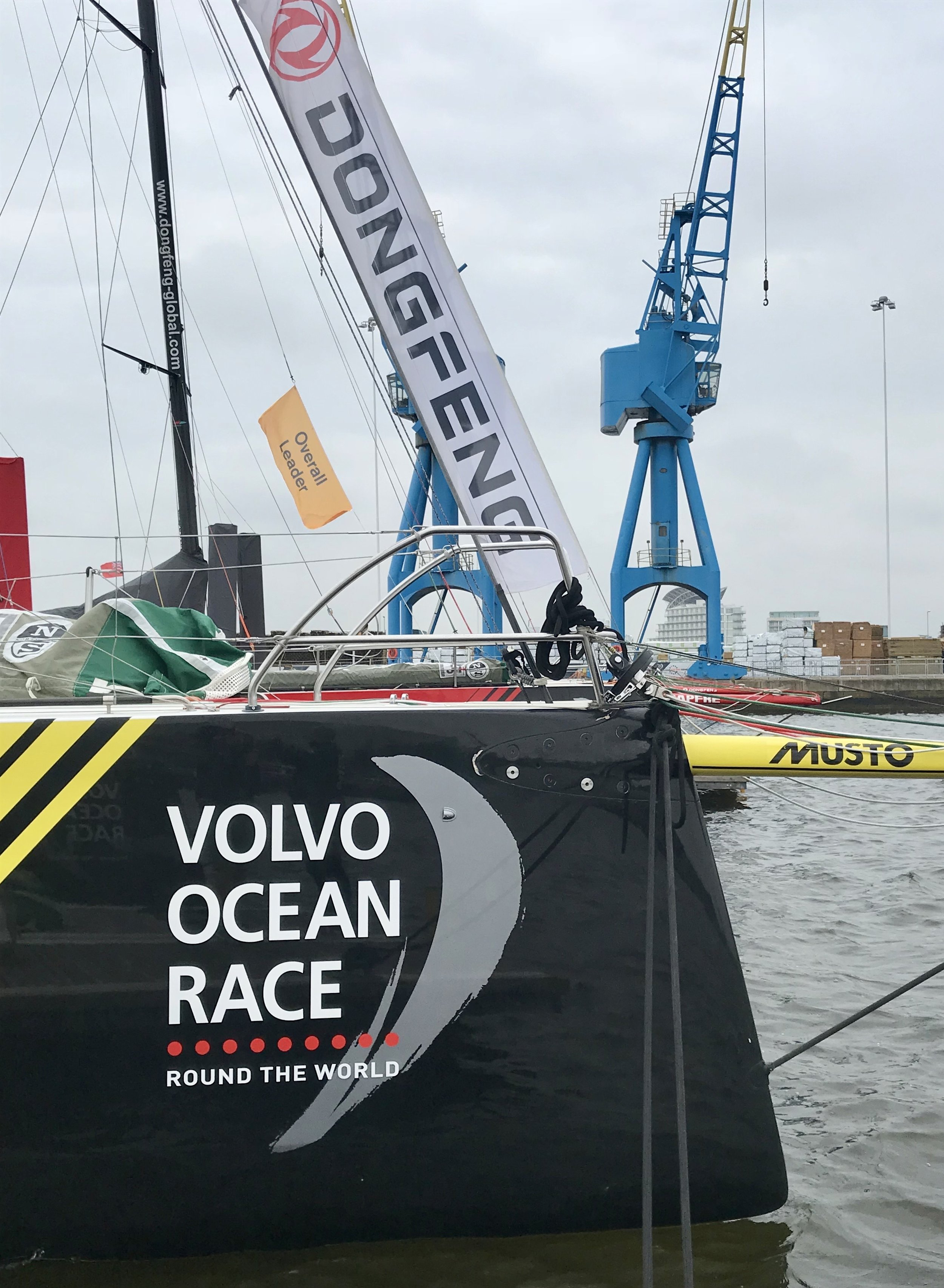 Volvo Round The World Yacht Race - Cardiff 2018 - Ant Leake for Bluefin TV