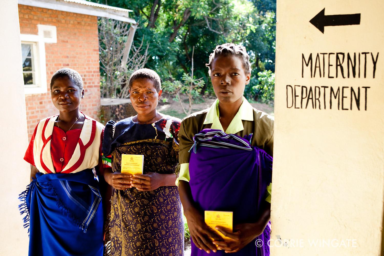 Antenatal checkup, Lakeview health centre, Ntcheu district, Malawi, Africa