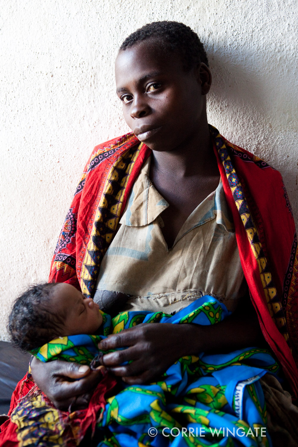 Neonatal mother, Nsambe Health Centre, Neno district., Malawi, Africa
