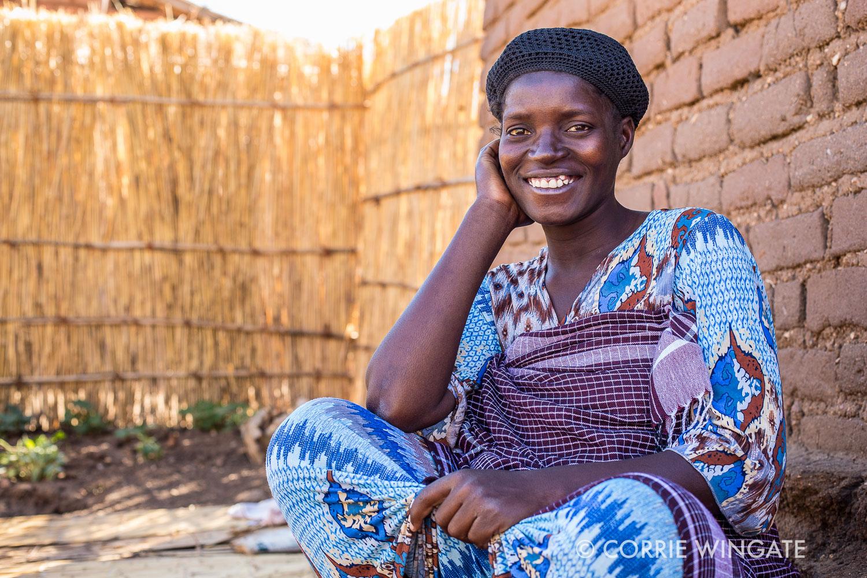 Case  study: Adesi Arnold is a pregnant mother of 9 months term, group member of Kalonga WG, Kalonga village, Salima district, Malawi