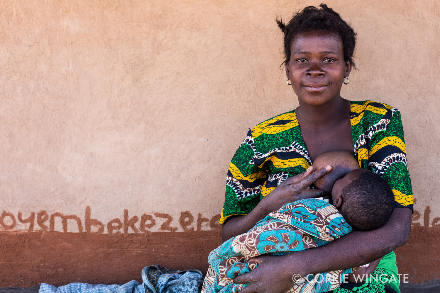 Case study: Secilia Evance a mother with a one month old baby, member of Tilimbike WG, Kalonga village, Salima district, Malawi