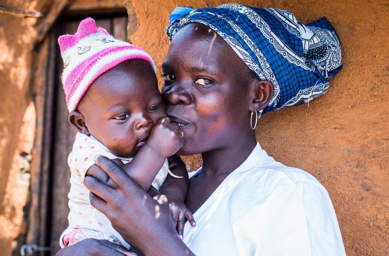 Case study: Martha Champula an HIV+ mother with newborn, member of Tiritonse group WG, Matumba village, Salima district, Malawi
