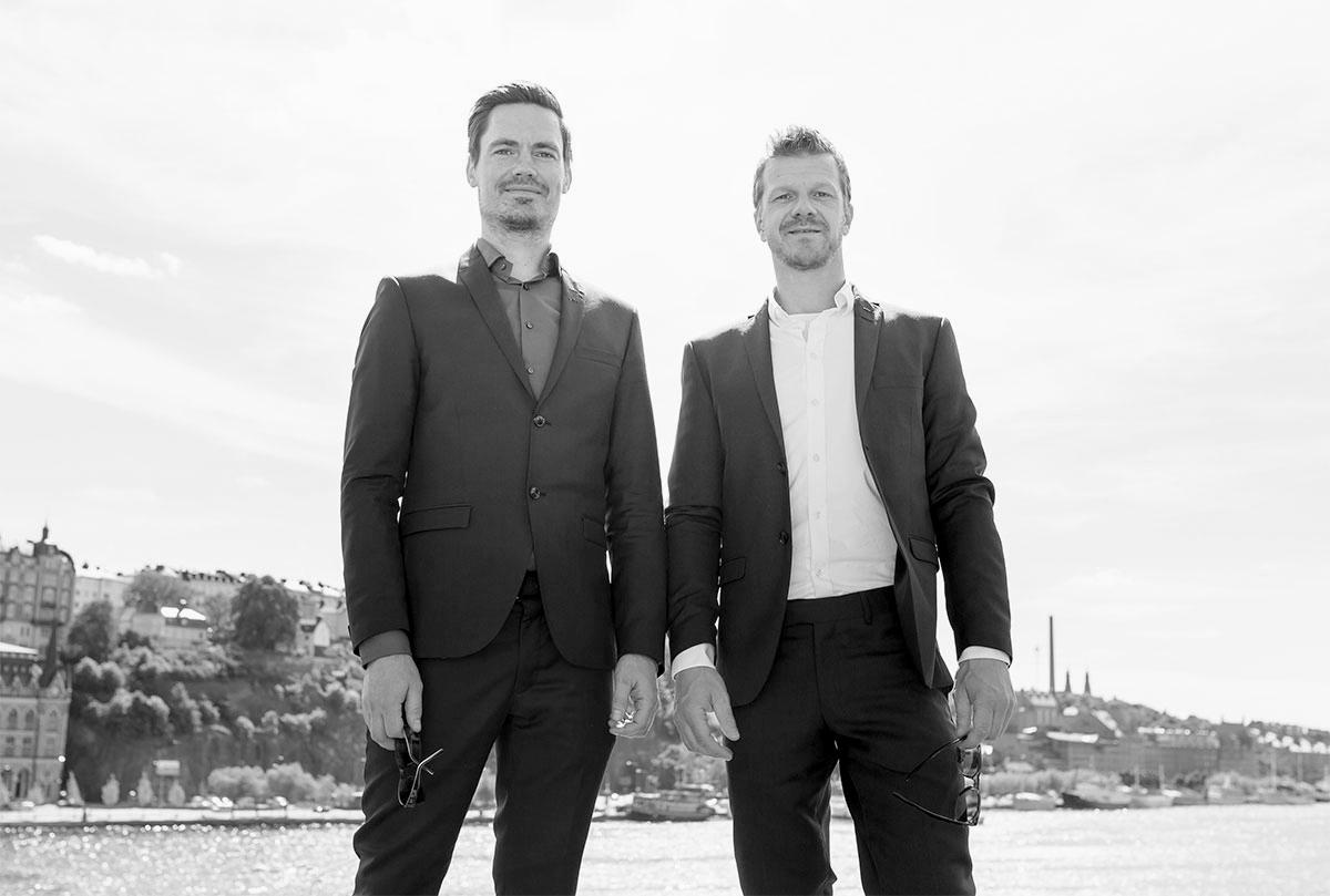 Magnus Eriksson och Nicklas Brandt grundade företaget 2007