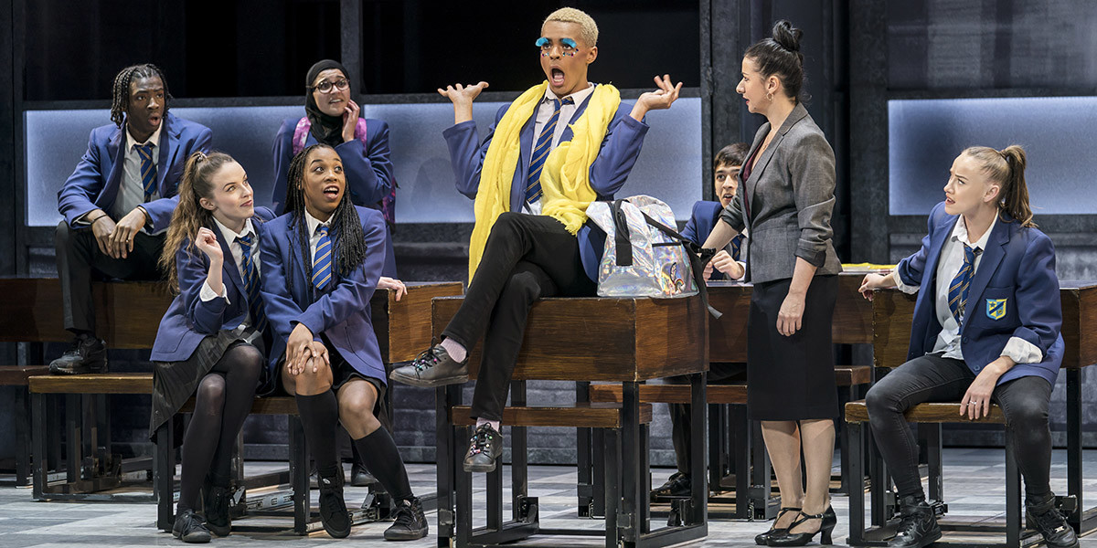 Layton Williams and the Ensemble of Everybody's Talking About Jamie