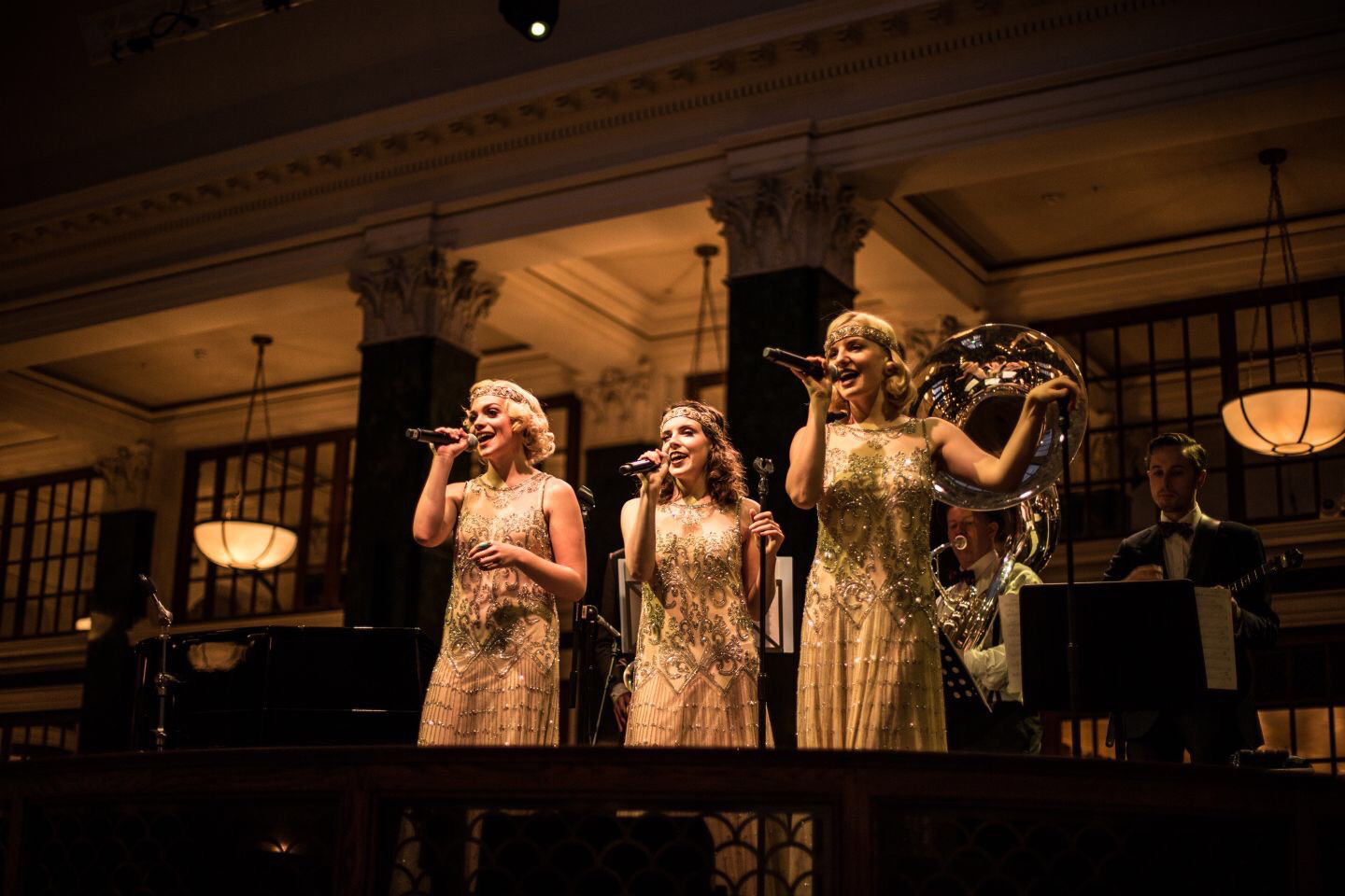 The Wild Tonics - The glamorous vintage trio sing classics and modern hits with a jazz spin.