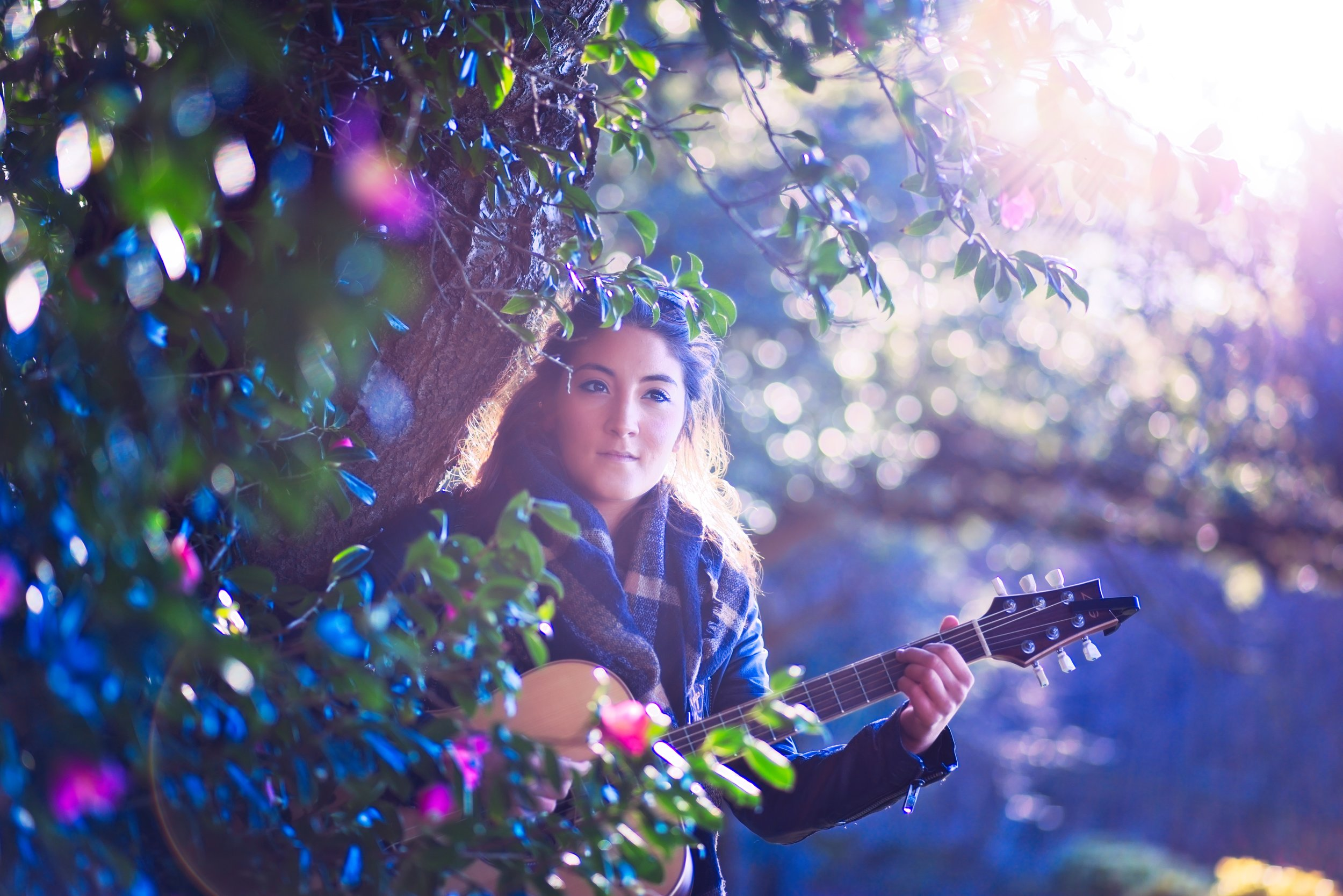 Pari performs live acoustic guitar and beautiful vocals for your summer event