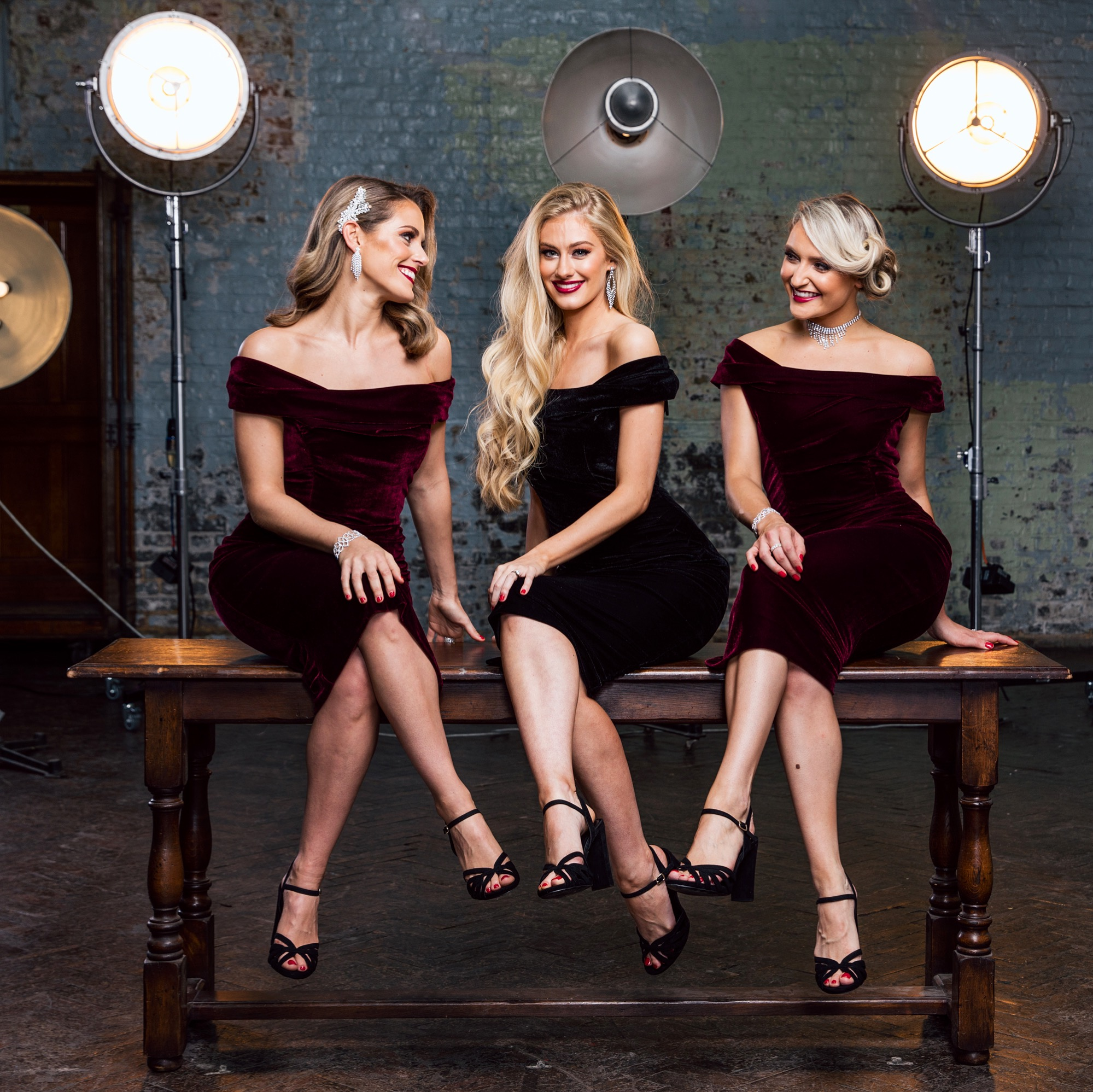 Roxy bring glitz and glamour to any occasion with their stunning vocal harmonies and slick choreography.
