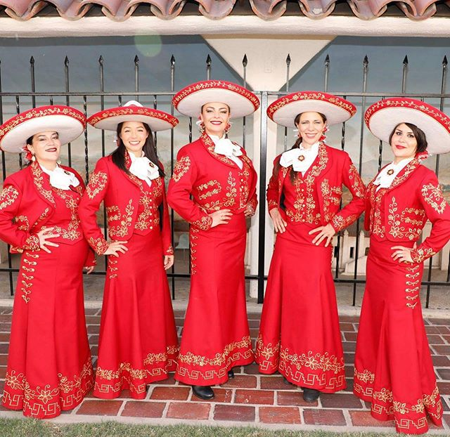 Mariachi Las Adelitas! The lively all-female Mariachi band are keeping the summer vibes going through September...! . . . #mariachiband #femalemariachi #mariachi #mexicanmusic #latinmusic #summersoundtrack #summerparty #septembersummer #partyband #serenade #livemusic #liveentertainment #musicbooking #traditionalmusic #summerfestival