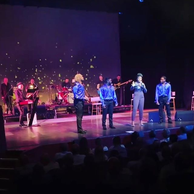Our musicians in full swing in the Gladys Knight Concert this weekend! . . . #gladysknight #towngatetheatre #tributeshow #gladysknighttribute #sessionmusician #livemusic #theatreproduction #uktheatre #uktour #livesinger