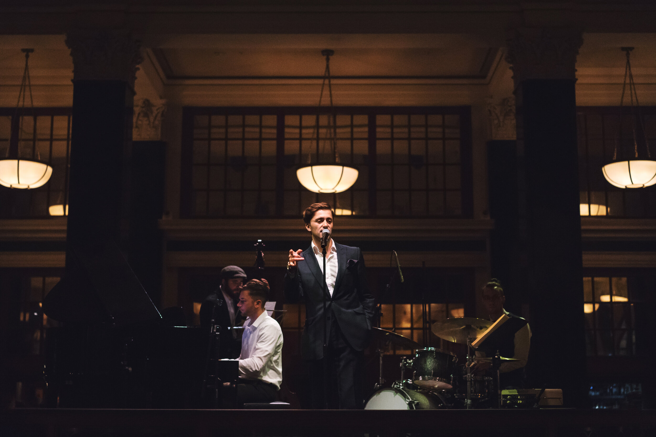 Leon Garner Jazz Trio perform hits from the Great American Songbook and timeless classics from the world of MGM musicals