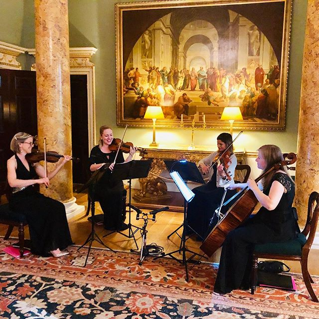 A glorious performance venue this week for Titanium String Quartet - Spencer House is nothing short of breathtaking! . . . #titaniumstringquartet #stringquartet #londonstringquartet #londonevents #corporateevent #corporateentertainment #stringmusicians #londonmusicians #spencerhouse #stjamesplace