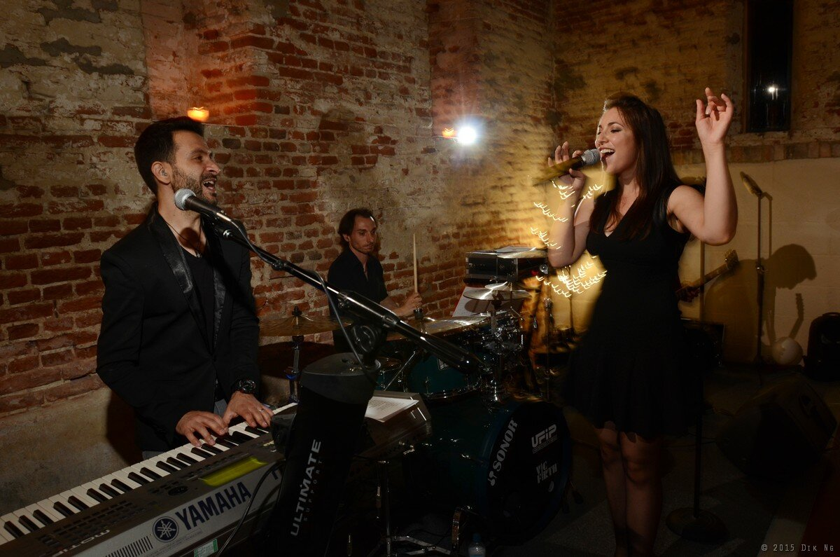 Vibe Factory performing high octane pop covers - your wedding day band sorted!