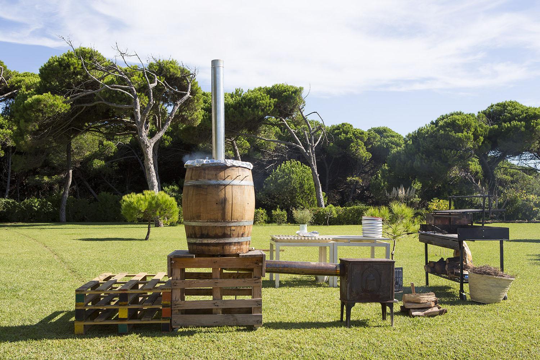 Kinfolk picnic at La Ricarda