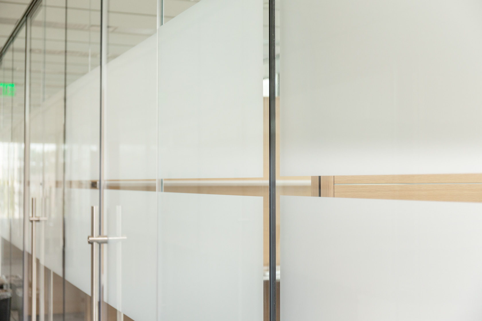 Privacy Film for Offices - Image by Suntrol