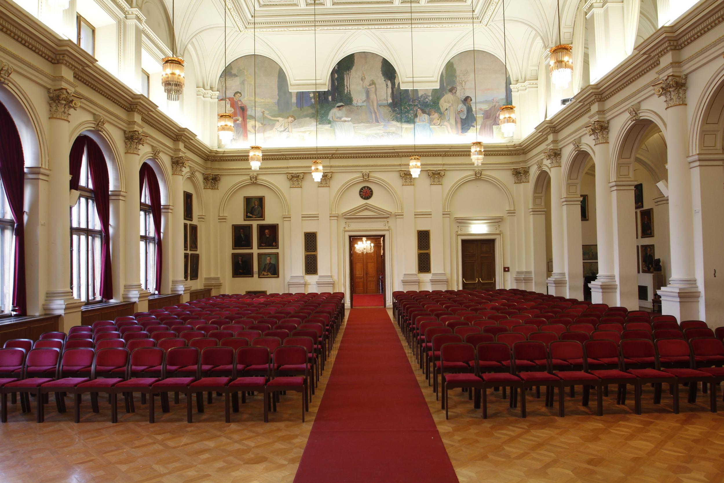 Aula der Karl Franzens Universität Graz