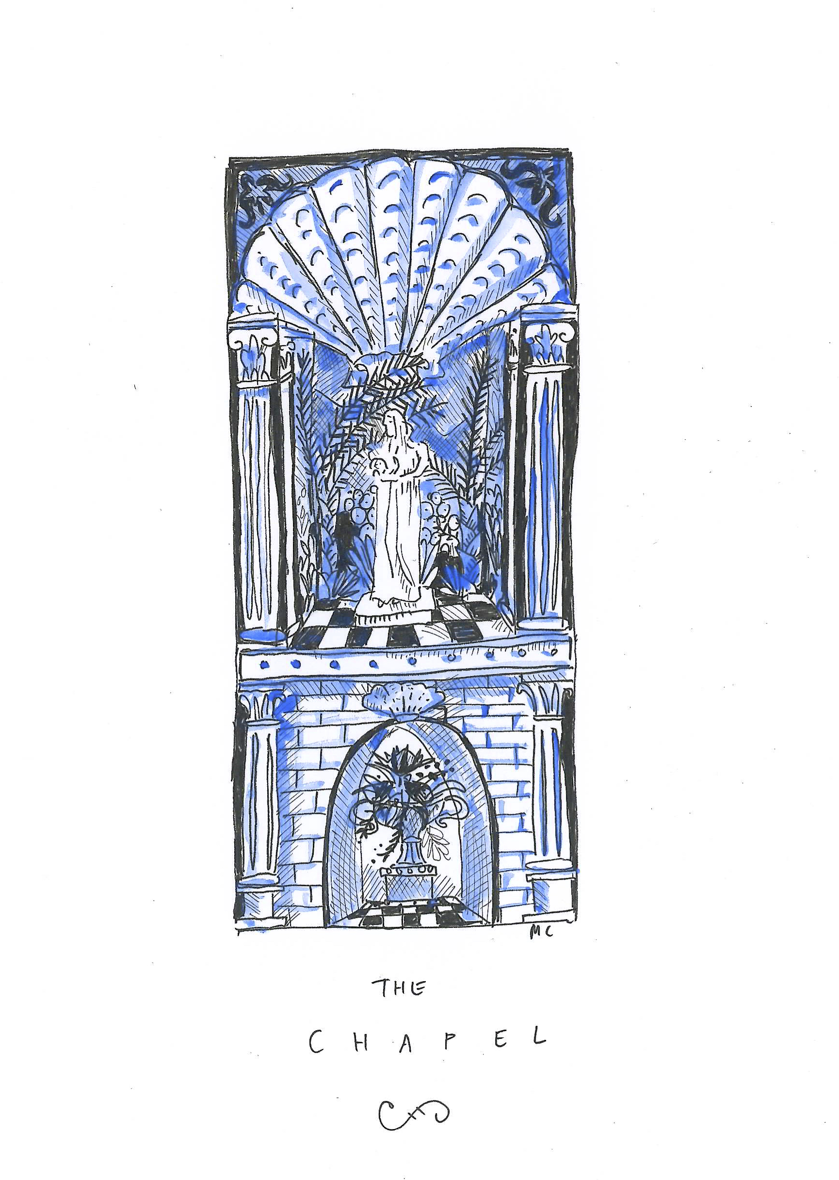 An initial sketch of the Chapel