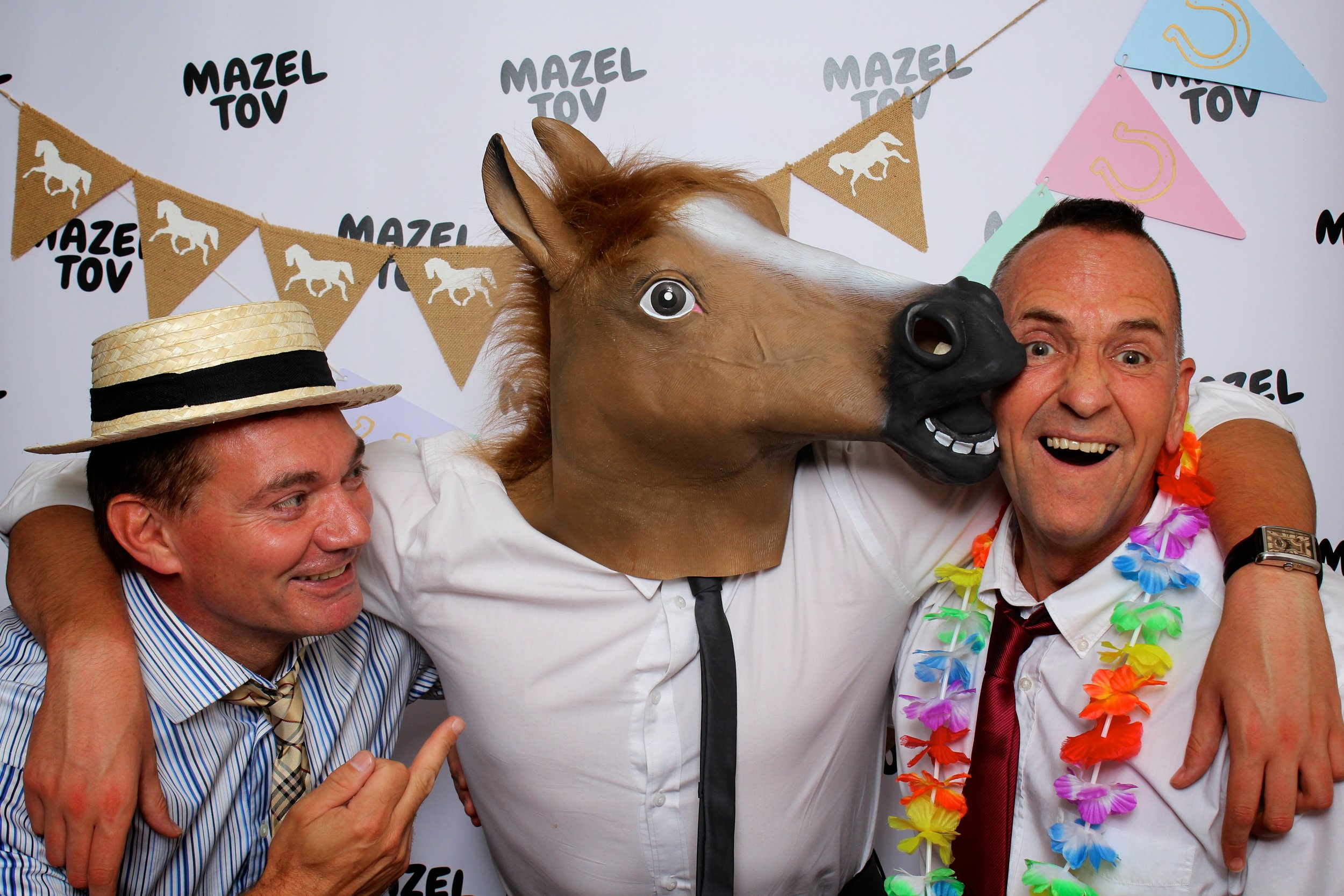 Photobooth for Mitzvah