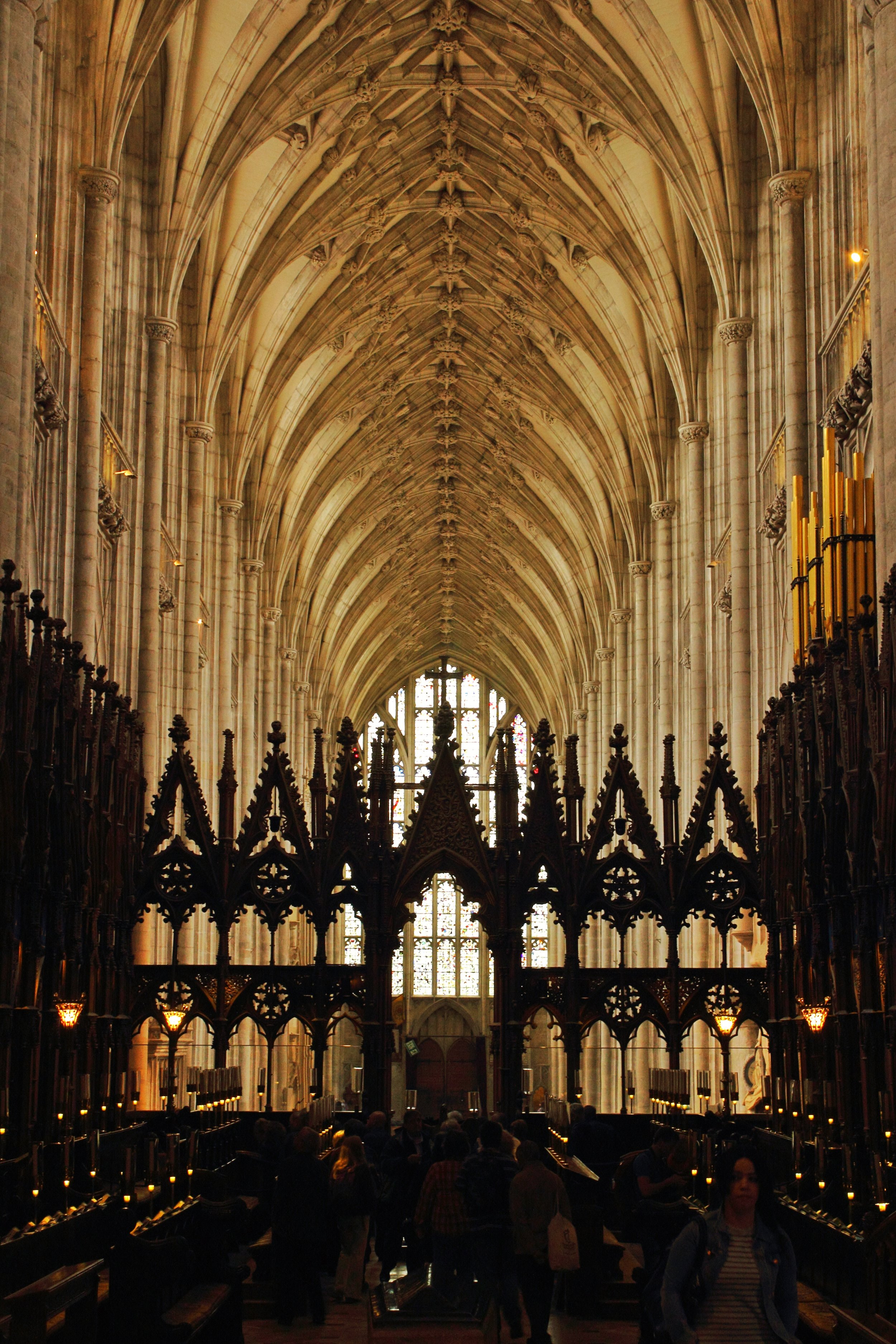 Winchester Cathedral is just a gem, and Jane Austen is buried there, as well.